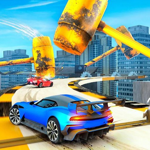 Stunt Car Driving Challenge -Impossible Stunts