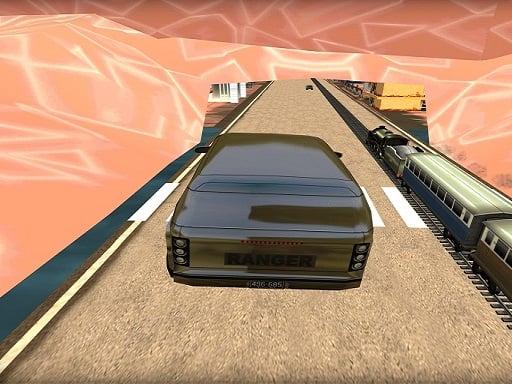 Süper Araba Yarışı Oyunu vs Tren
