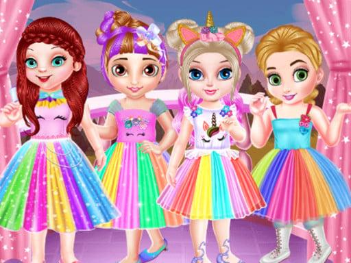 Детские Принцессы Вечеринка Единорогов