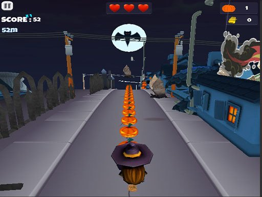 Halloween Runner - New Games - Cool Math Games