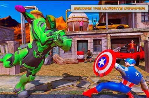 Venom Hero Street Fighting Game