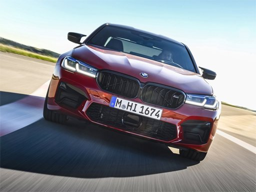 Play BMW M5 Competition Puzzle Online