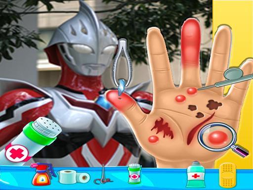 Ultraman Hand Doctor - Fun Games for Boys Online