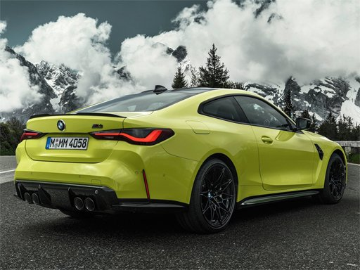 Пазл BMW M4 Coupe