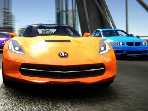 Play Drift Rush 3D game online!