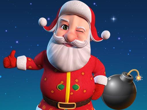Санта-бомбардировщик 3D