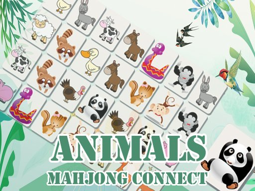 Animals Mahjong Connect - Popular Games - Cool Math Games
