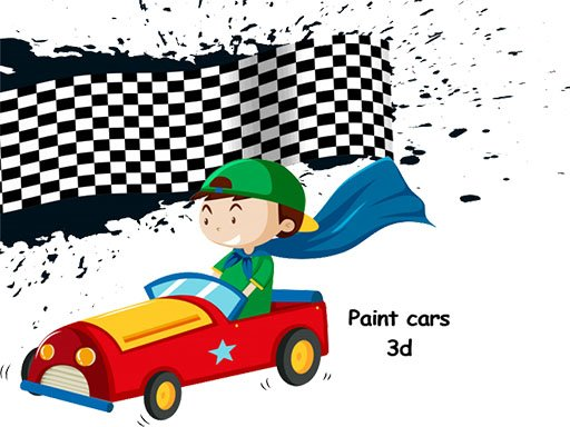 Play Cars 3D Color by Number
