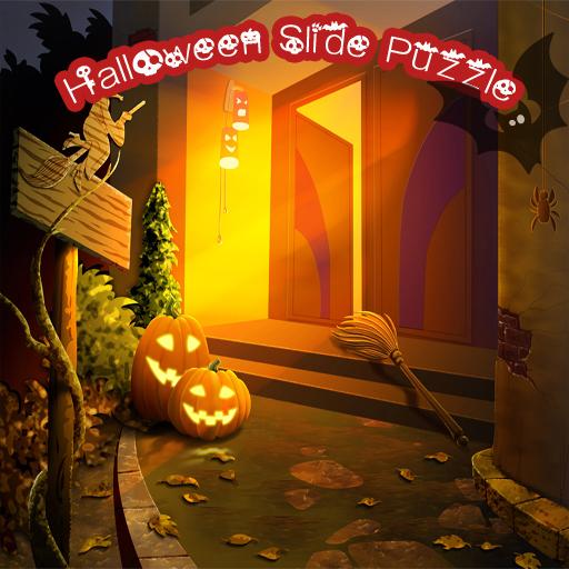 Halloween Slide Puzzle 2