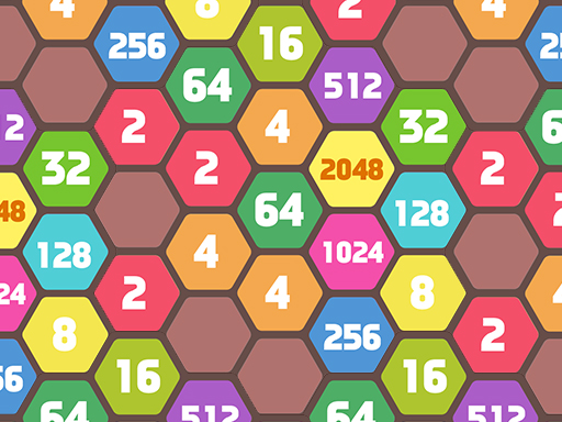 Блок слияния 2048 Hexa