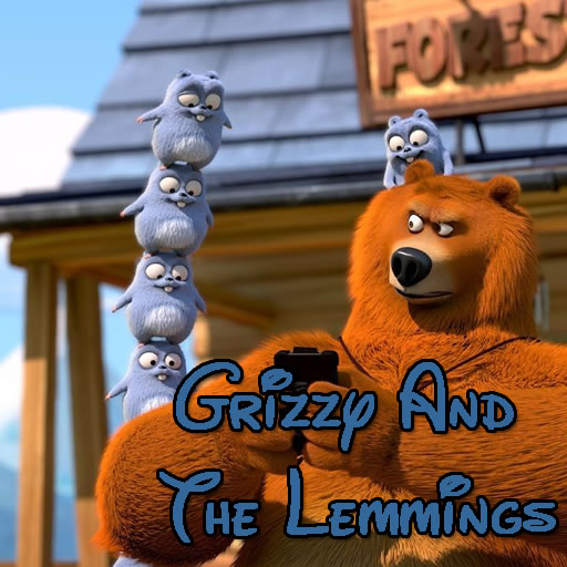 Grizzy And The Lemmings Jigsaw