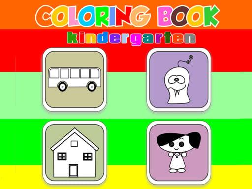 Coloring Book Kindergarten