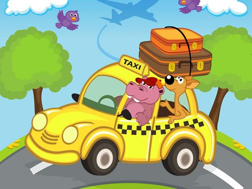 Play Animal Cars Match 3 Online
