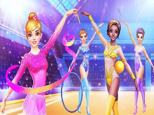 Gymnastics Dress Up Game