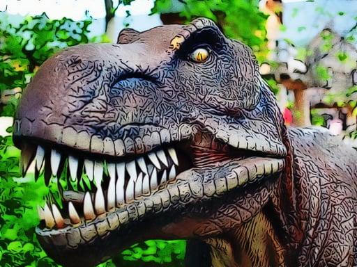 Tyrannosaurus Rex Carnivore Jigsaw
