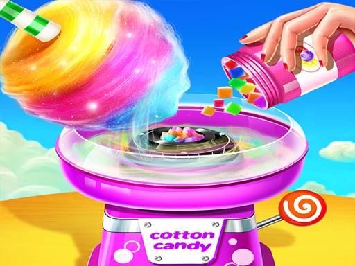 Кулинарная игра в магазине сладкой ваты