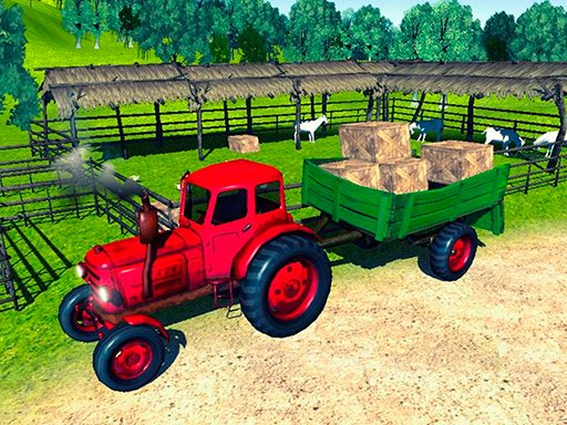 Play Farmer Tractor Cargo Simulation Online