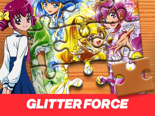 Play Glitter Force Jigsaw Puzzle
