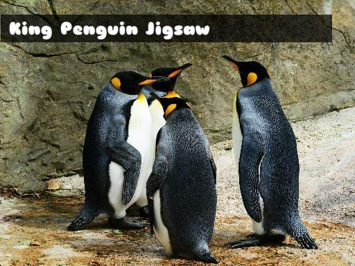 Пазл Король Пингвин