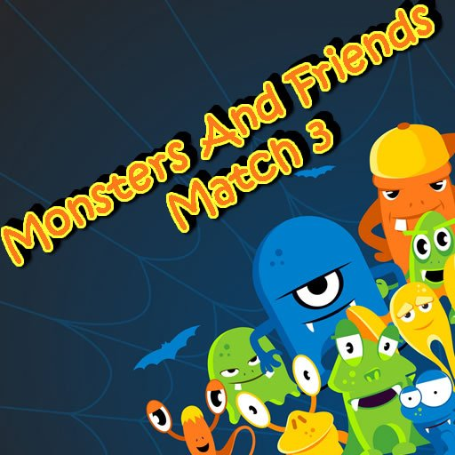 Monsters And Friends Match 3