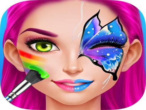 Face Paint Costume Party Girls Salon