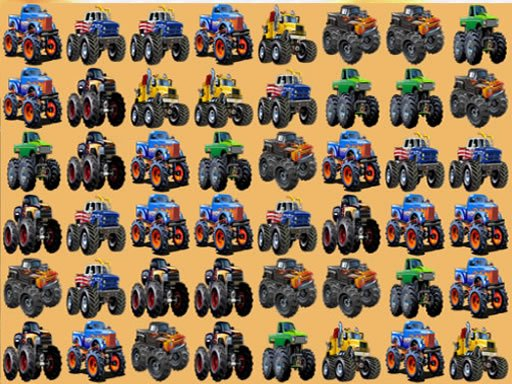 Monsters Trucks Match 3