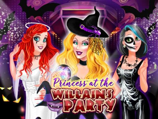Watch PRINCESS AT THE VILLAINS PARTY