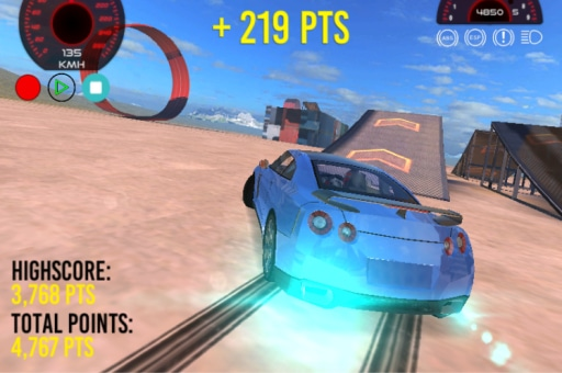 GTR Drift Stunt Game