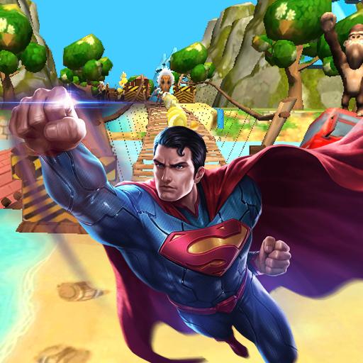 Subway Superman Run