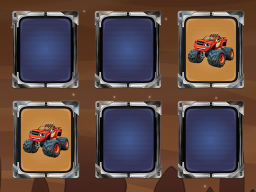 Blaze Monster Machines Memory