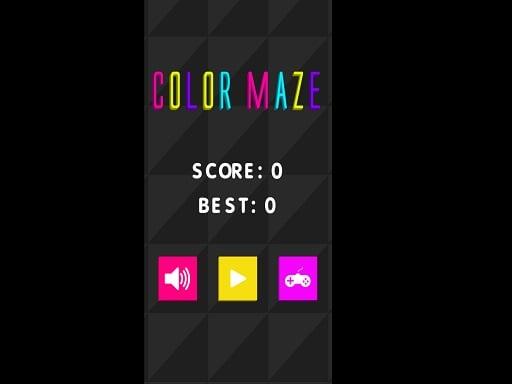 Color Maze !