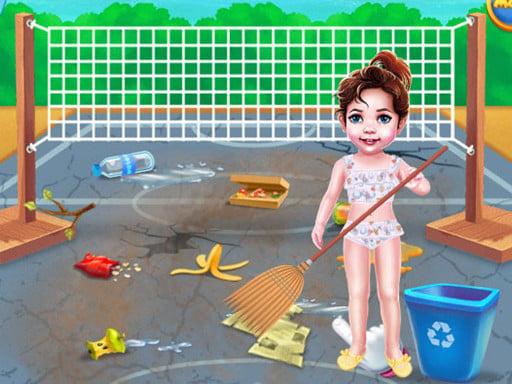 День уборки пляжа Бэби Тейлор