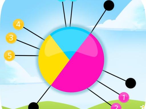 Color Pin Circle - Addictive Pin Shooter Game