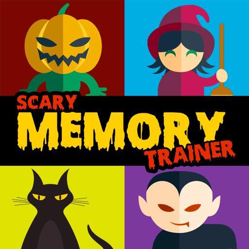 Halloween Pairs: Memory Game - Brain training
