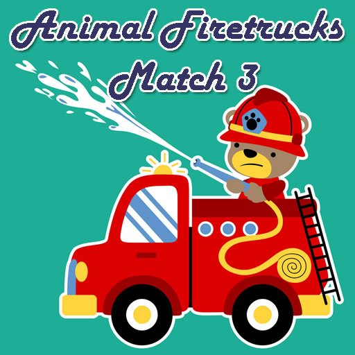 Animal Firetrucks Match 3