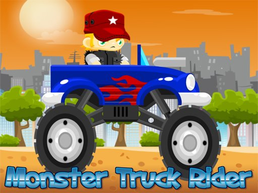 Monster Truck Rider - Popular Games - Cool Math Games