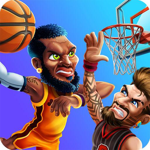 Basket Swooshes -basketball game