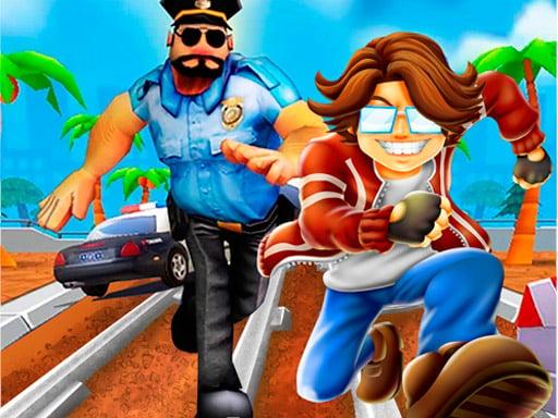 Play Rail Blazers Runner game online!