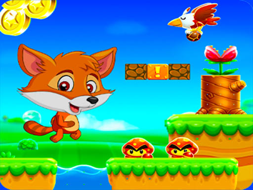 Приключенческий забег Super Fox World Jungle Adventure Run
