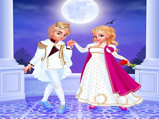 Play Cinderella & Prince Charming - Dress Up