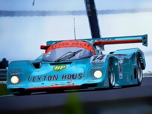 Süper Hızlı Arabalar Yapboz