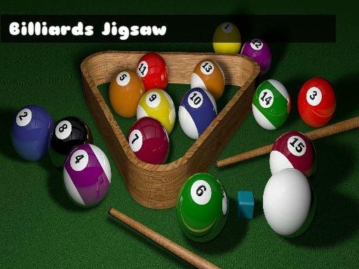 Billiards Jigsaw