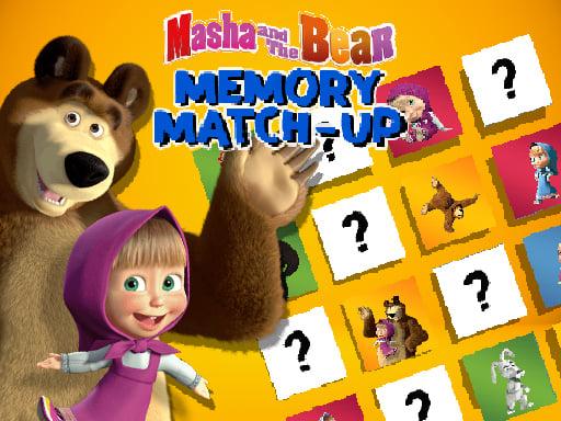 Masha and the Bear Memory Match Up