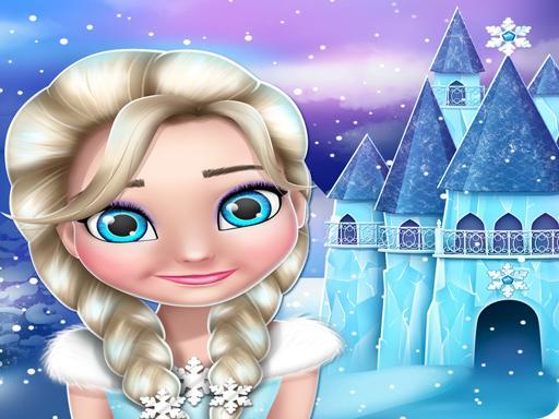 Play Frozen elsa Princess Doll House Games online