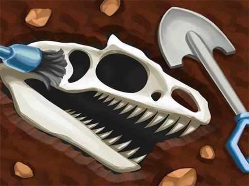 Dinosaur Bone Digging Games