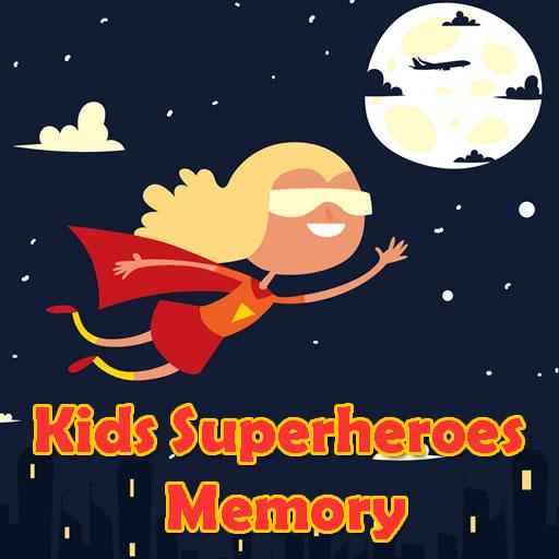 Kids Superheroes Memory