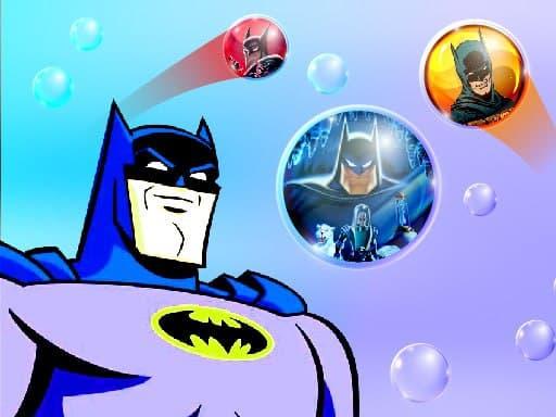 Бэтмен: стрелять пузырями: головоломка