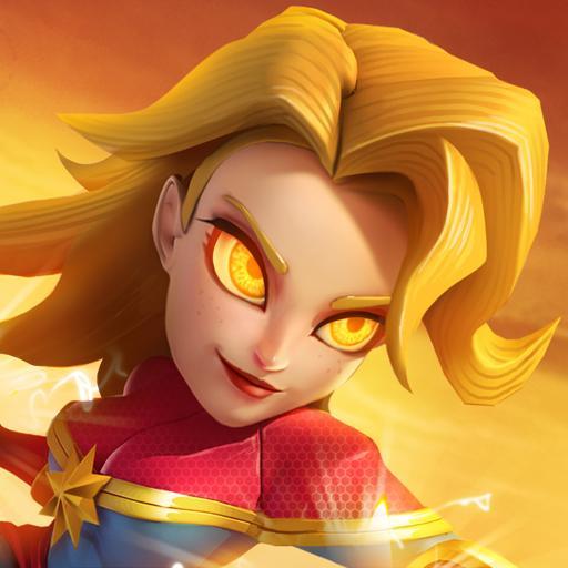 wonder woman of Superheroes - Empires Mobile