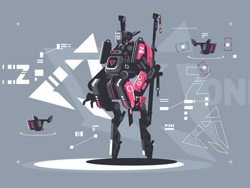 Play Alien Robot Warrior Hidden Online