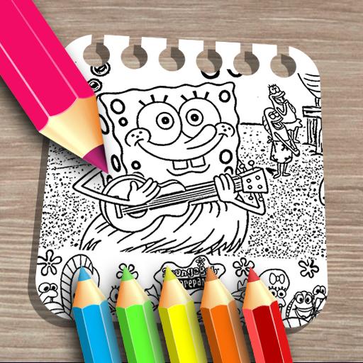 Sponge on the Run Coloring Book